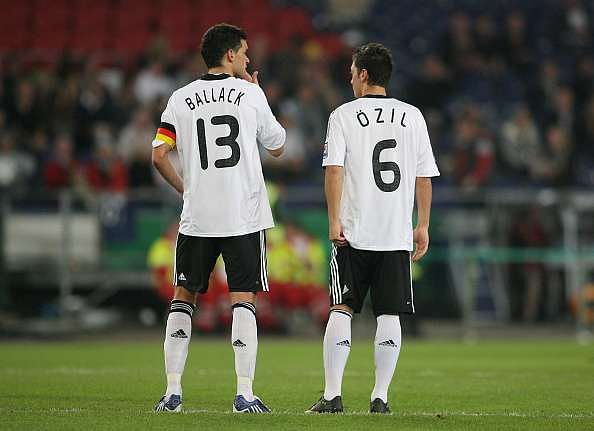 Michael Ballack Mesut Ozil