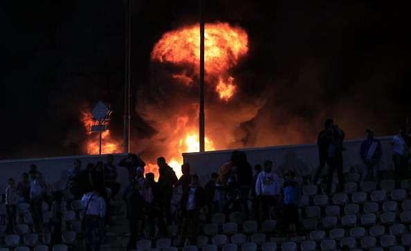Port Said riot Al Ahly Al Masry football Egypt