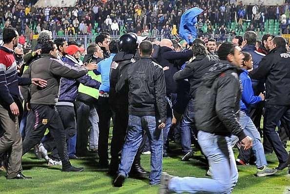 Port Said riot Egypt football