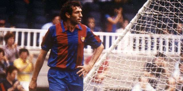 Quini played for Barcelona and Sporting Gijon