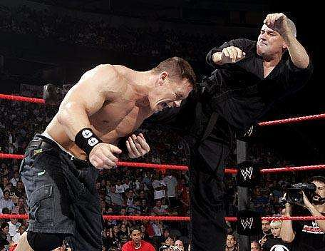 Cena faced Eric Bischoff in 2005