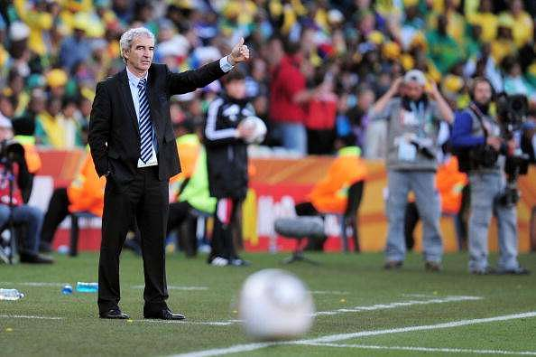 Raymond Domenech was the manager of France
