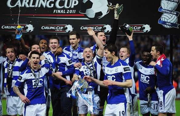 Birmingham City won the League Cup in 2011