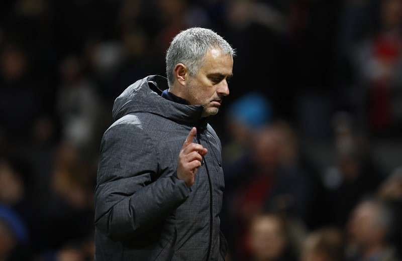 Britain Football Soccer - Manchester United v FC Rostov - Europa League Round of 16 Second Leg - Old Trafford, Manchester, England - 16/3/17 Manchester United manager Jose Mourinho walks off after the game Action Images via Reuters / Jason Cairnduff Livepic