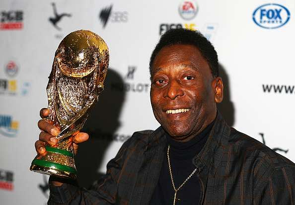 Even Pele, one of the greatest footballers of all-time, had a ritual