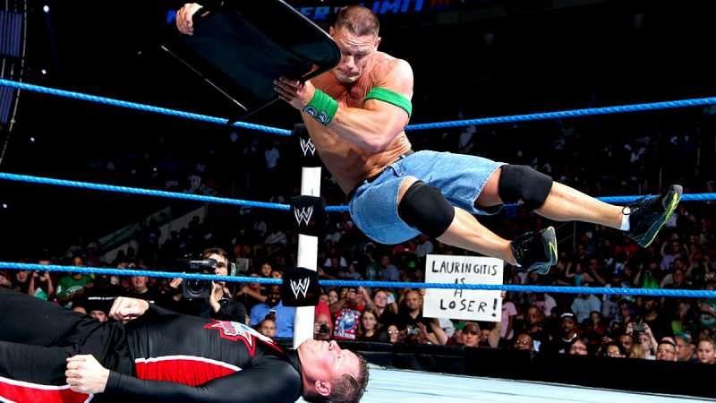 John Cena and John Laurinaitis main-evented WWE Over The Limit 2012