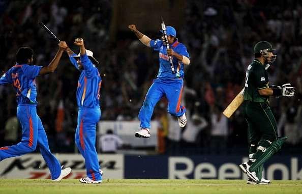 India Pakistan  2011 World Cup