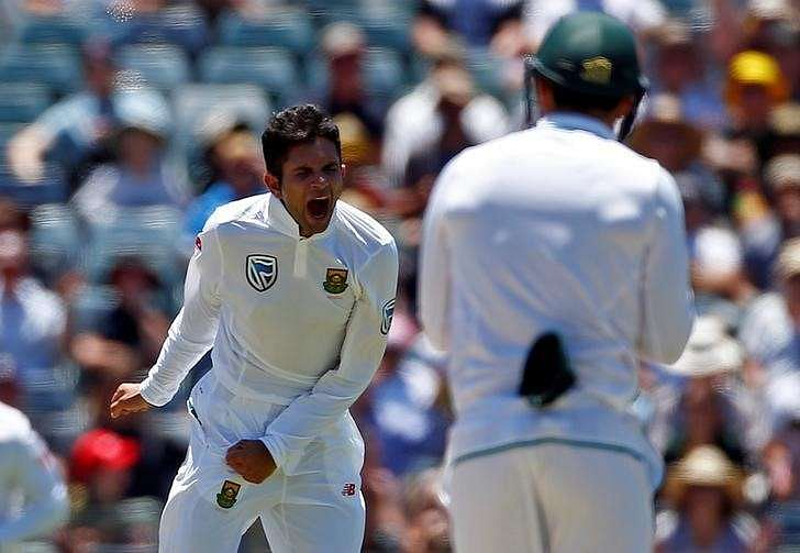 Cricket - Australia v South Africa - First Test cricket match - WACA Ground, Perth, Australia - 4/11/16 South Africa