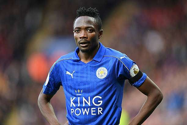 LEICESTER, ENGLAND - OCTOBER 22:  Ahmed Musa of Leicester City looks on during the Premier League match between Leicester City and Crystal Palace at The King Power Stadium on October 22, 2016 in Leicester, England.  (Photo by Michael Regan/Getty Images)