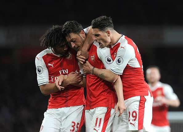 Arsenal midfield