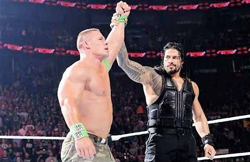 WWE 2020 John Cena vs Roman Reigns