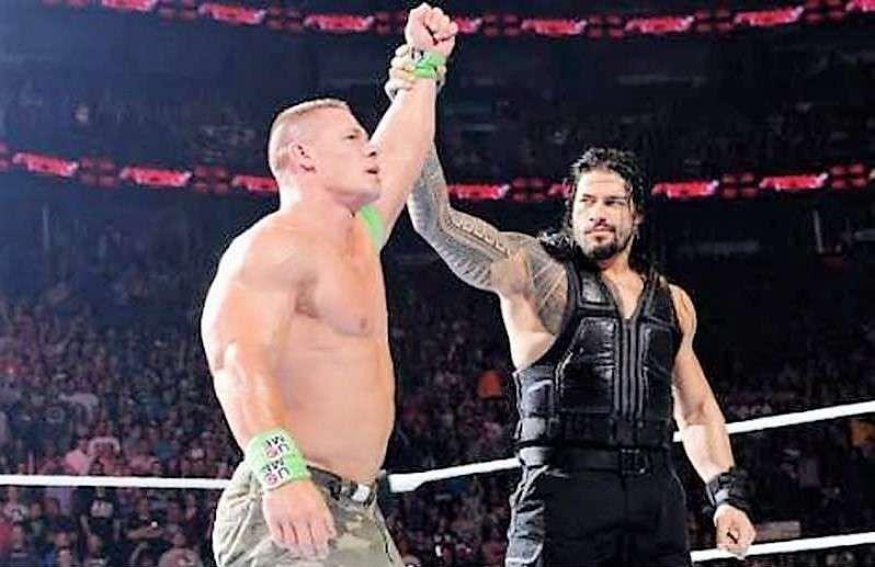 WWE 2020 John Cena vs Roman Reigns