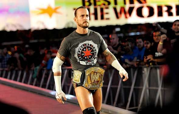 CM Punk reigned as the WWE Champion for 434 days