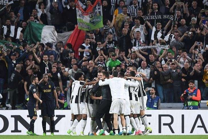 Football Soccer - Juventus v AS Monaco - UEFA Champions League Semi Final Second Leg - Juventus Stadium, Turin, Italy - 9/5/17 - Juventus