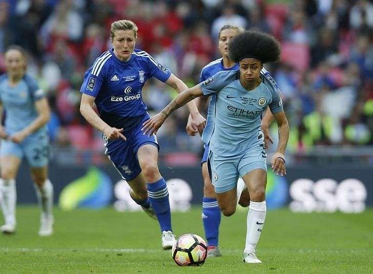 Britain Football Soccer - Birmingham City v Manchester City - Women