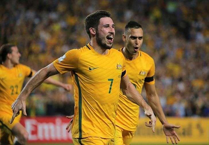 Football Soccer - Australia vs United Arab Emirates - 2018 World Cup Qualifying Asian Zone - Group B - Sydney Football Stadium, Sydney, Australia - 28/3/17 - Australia