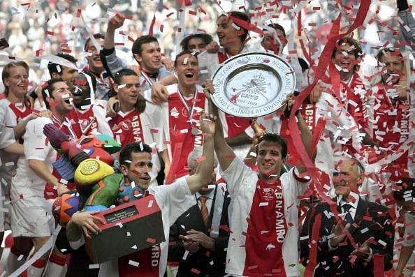 Ajax Amsterdam Eredivisie champions 2004