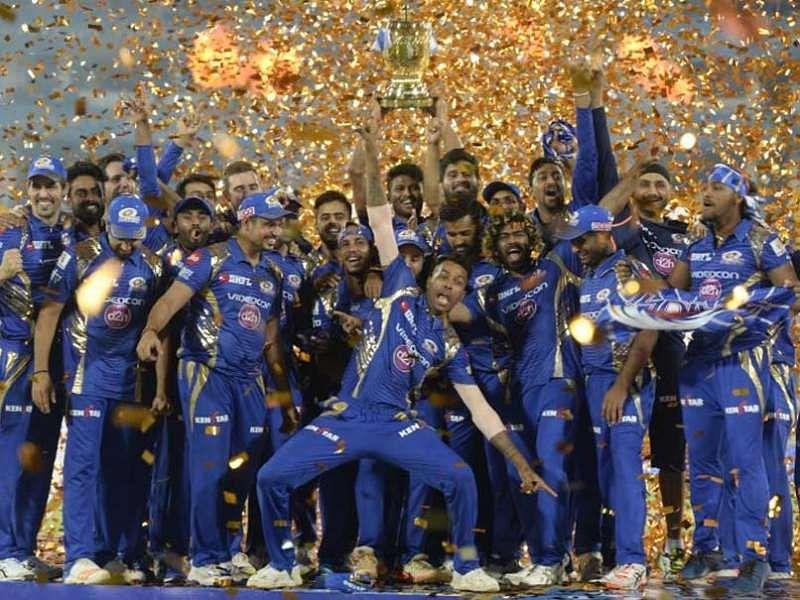 MI won their 3rd IPL title in 2017.