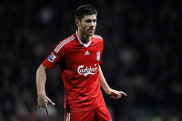 Xabi Alonso Players never selected Premier League Team of the Year