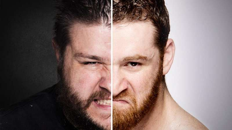 Sami Zayn and Kevin Owens graphic