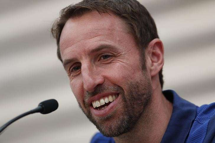 Britain Football Soccer - England Press Conference - Stade Omnisport, Croissy sur Seine, France - June 12, 2017 England manager Gareth Southgate during the press conference Action Images via Reuters / Lee Smith Livepic