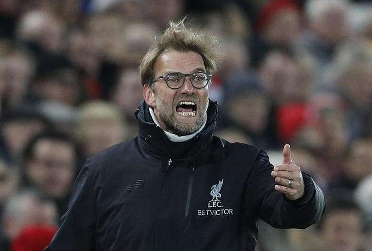 Britain Football Soccer - Liverpool v Stoke City - Premier League - Anfield - 27/12/16 Liverpool manager Juergen Klopp Reuters / Darren Staples Livepic/files