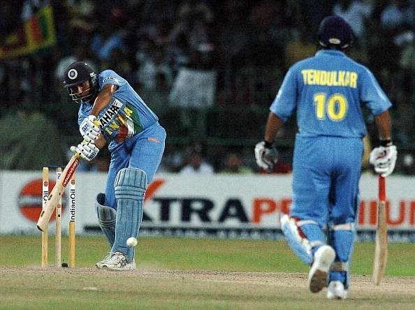 VVS Laxman scored a duck in his last ODI match