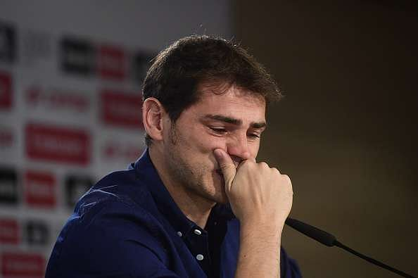 Image result for casillas crying getty