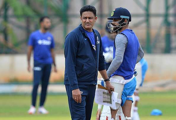 Kumble Kohli India Cricket