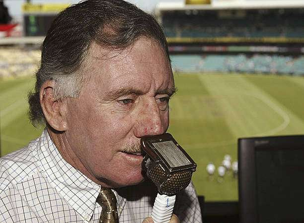 SYDNEY, AUSTRALIA - JANUARY 22:  Nine Network Commentator Ian Chappell at the SCG on January 22, 2004 in Sydney, Australia. (Photo by Hamish Blair/Getty Images)