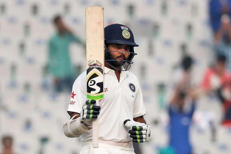 Parthiv Patel played test cricket after eight years