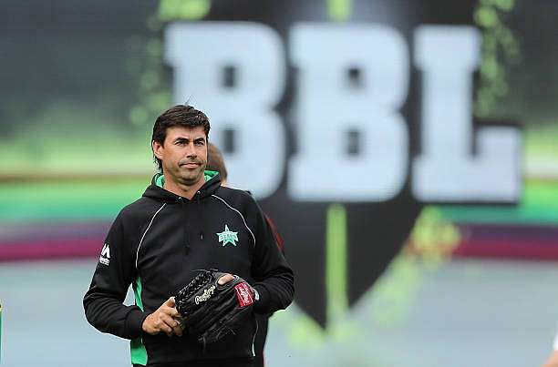 MELBOURNE, AUSTRALIA - JANUARY 01:  Stephen Fleming, Head Coach of the Stars looks on during the Big Bash League match between the Melbourne Stars and Melbourne Renegades at Melbourne Cricket Ground on January 1, 2017 in Melbourne, Australia.  (Photo by Scott Barbour/Getty Images)