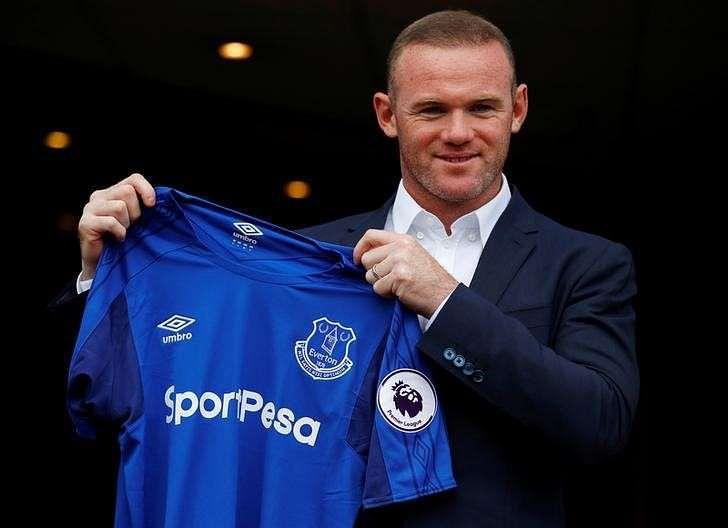 Soccer Football - Premier League - Everton - Wayne Rooney Press Conference - Liverpool, Britain - July 10, 2017 Everton