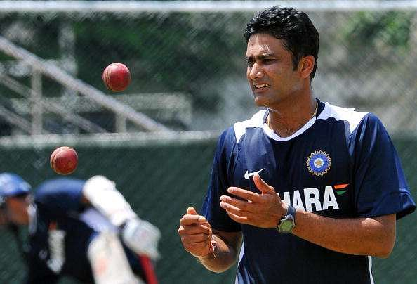 Kumble was successful in his only ODI as captain