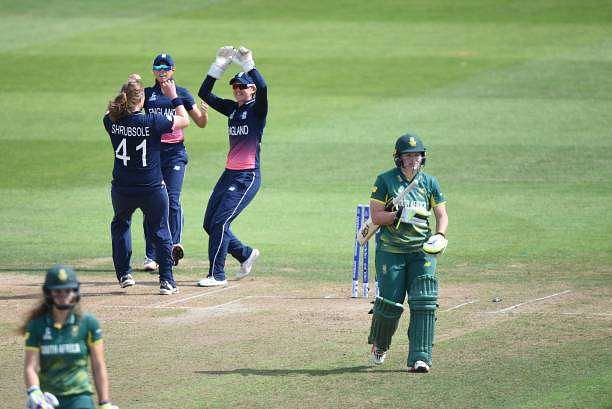 Lizelle Lee's early dismissal put South Africa on the back foot