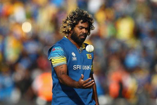 CARDIFF, WALES - JUNE 12:  Lasith Malinga of Sri Lanka during the ICC Champions Trophy match between Sri Lanka and Pakistan at the SWALEC Stadium on June 12, 2017 in Cardiff, Wales.  (Photo by Michael Steele/Getty Images)