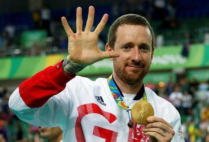 FILE PHOTO: 2016 Rio Olympics - Cycling Track - Victory Ceremony - Men