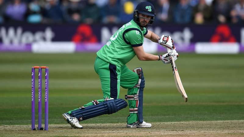 Ireland batsman Andy Balbirnie