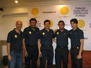 Olympic Gold Quest Team with the likes of Viren Rasquinha, Leander Paes and Geet Sethi
